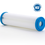 2.5×10 pleated filter NSF