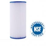 4.5×10 pleated filter NSF